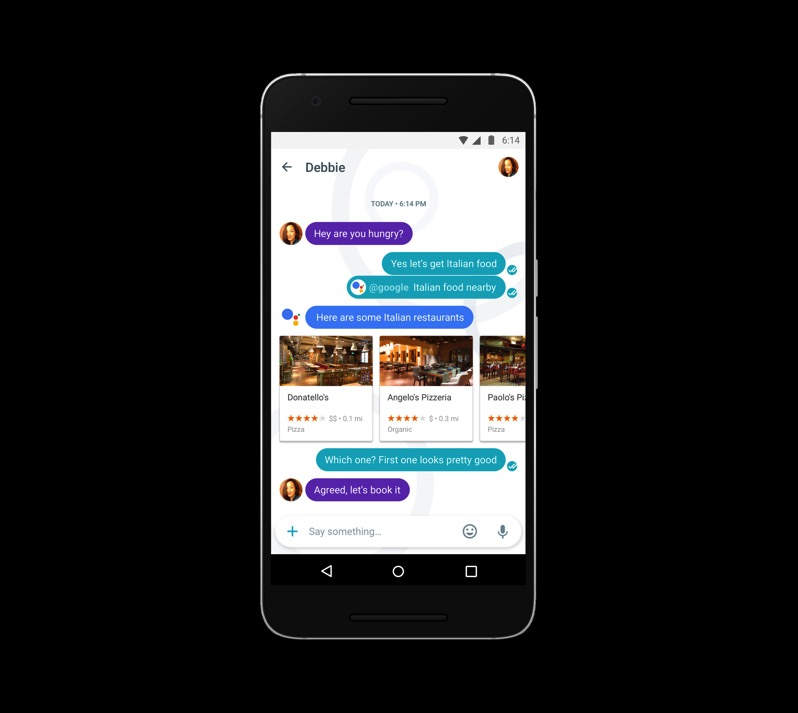 Google allo assistant 1