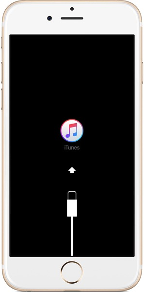 Iphone6 ios9 recovery mode screen
