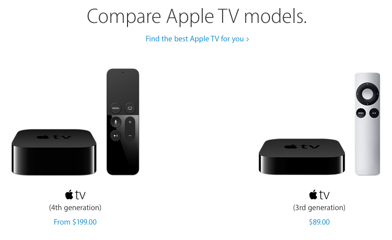 iphone 3rd generation apple discontinues 3rd apple tv but refurbs still 10830