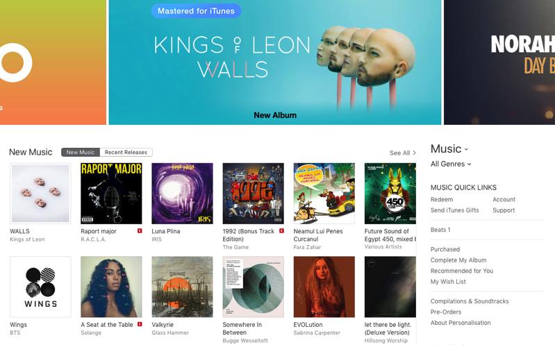 Itunes store music