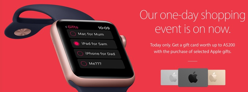 2016 apple black friday australia