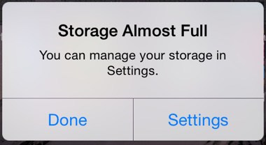 Storage-Almost-Full-iOS