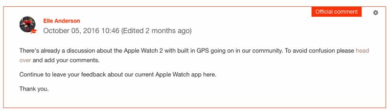 Strava apple watch series 2