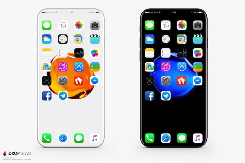 IPhone 8 Concept Wireless Charging