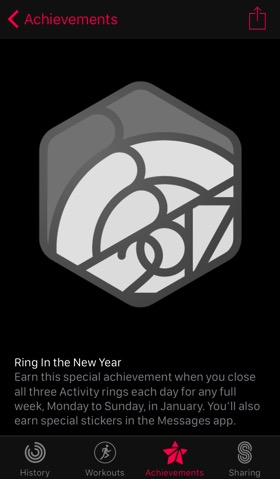 Ring in the new year challenge