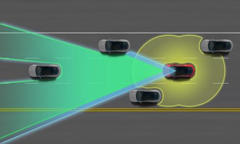 Tesla's Amazing Autopilot System Helps Avoid a Crash
