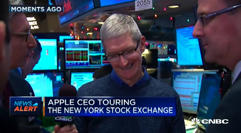 Tim cook NYSE