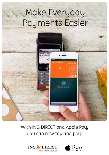 Apple pay ING direct b