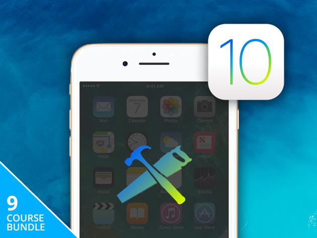 Ios 10 complete app builder