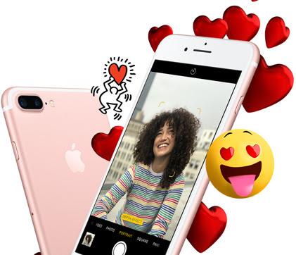 Apple valentine s day