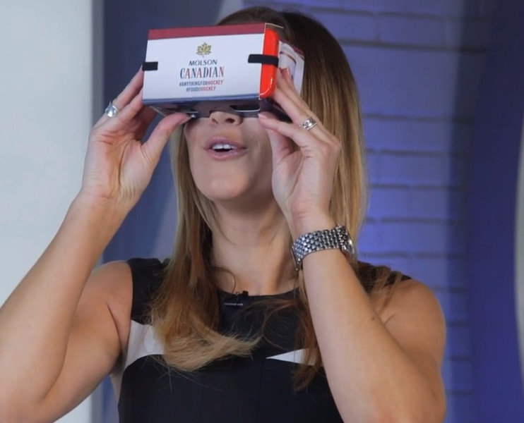 Rogers sportsnet molson VR