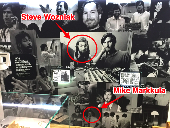The museum takes you through a physical timeline of apples history as a company and its products it was founded on april 1 1976 by jobs steve wozniak and ronald wayne jpg