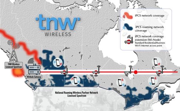 Thumbnail wireless network