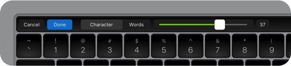 Touch bar 1500x345