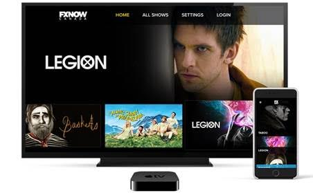 Rogers Launches FXNOW Canada App on Apple TV | iPhone in