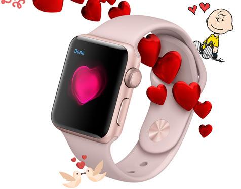 Valentine s day apple watch