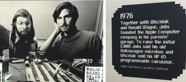 Wozniak and jobsmet whilst working for hewlett packard in 1971 wozniack was still in college and jobs was still in high school jpg