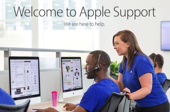 Apple suport