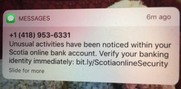 Bank fraud unusual activity