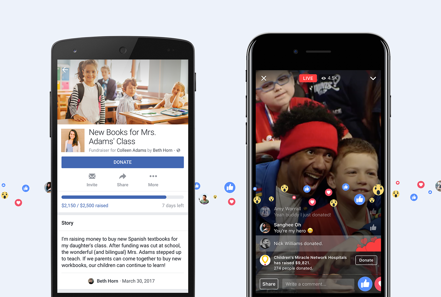 Facebook Introduces Personal Crowdfunding Features | iPhone