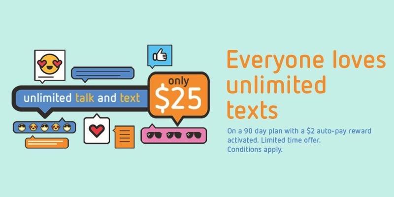 Public mobile talk text