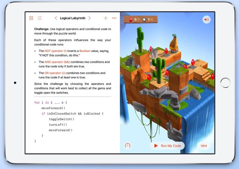 Swift playgrounds update