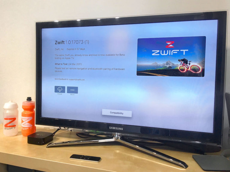 Zwift Apple TV App Coming as Beta Testers Go Hands On | iPhone in