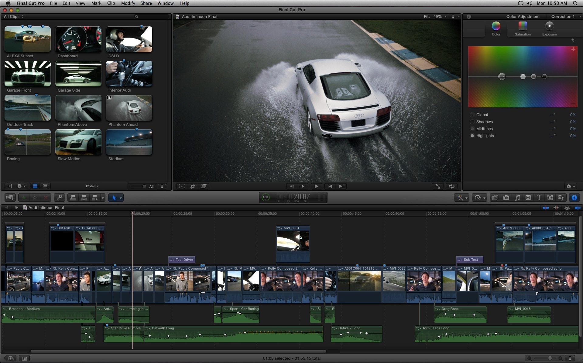 Apple's Video Editing Software Final Cut Pro X Reaches 2