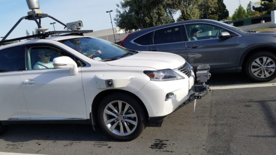Apple?s Self-Driving Test Vehicle Spotted On California Streets
