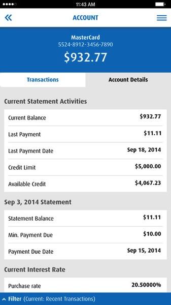 Bmo Mobile Banking App Gets Pending Transactions Cibc