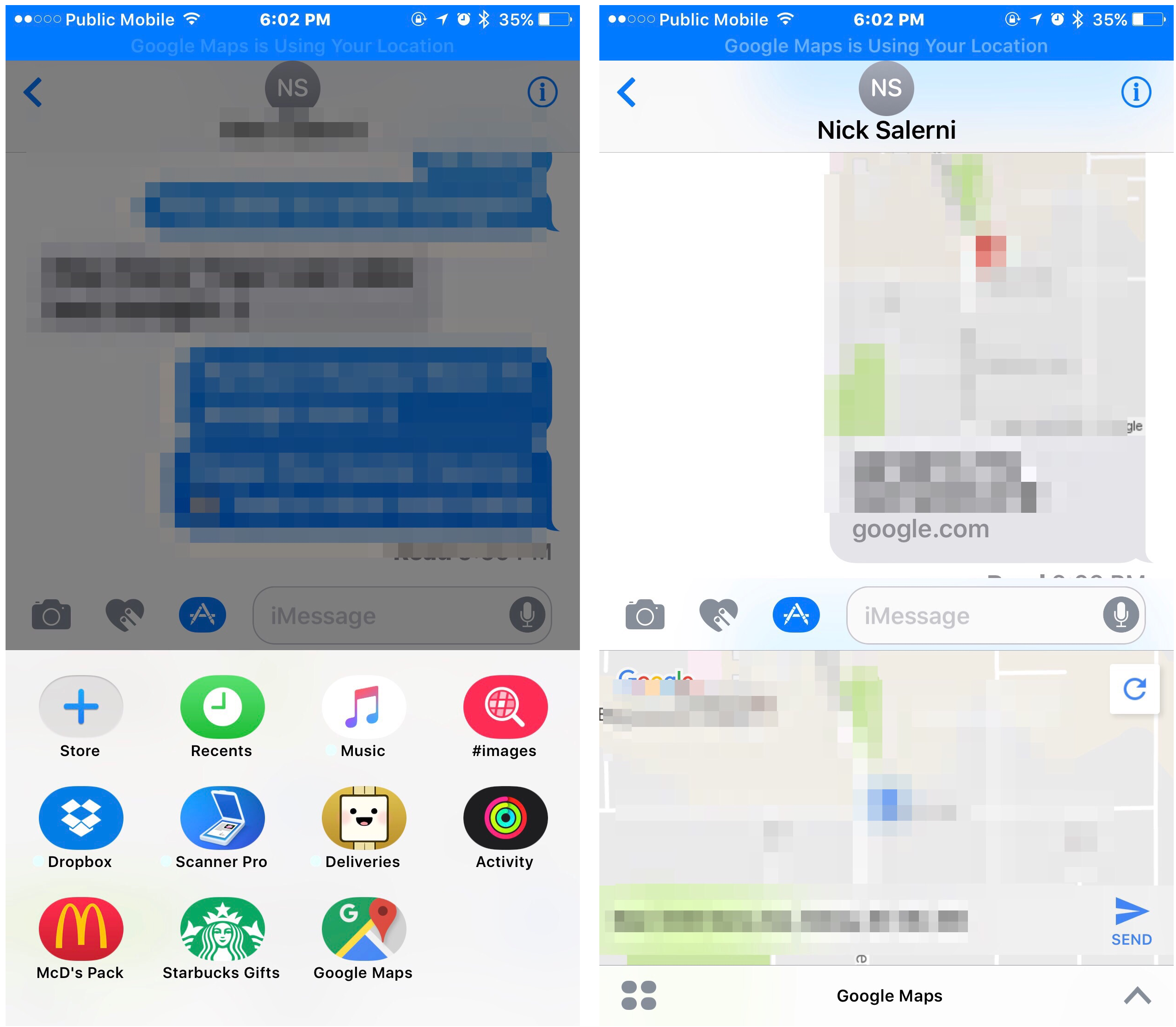 Google Maps for iOS Updated with Lock Screen Directions ... on google maps canada ontario, map of usa canada, google map alberta canada, google satellite map canada, map quebec canada, world map canada,