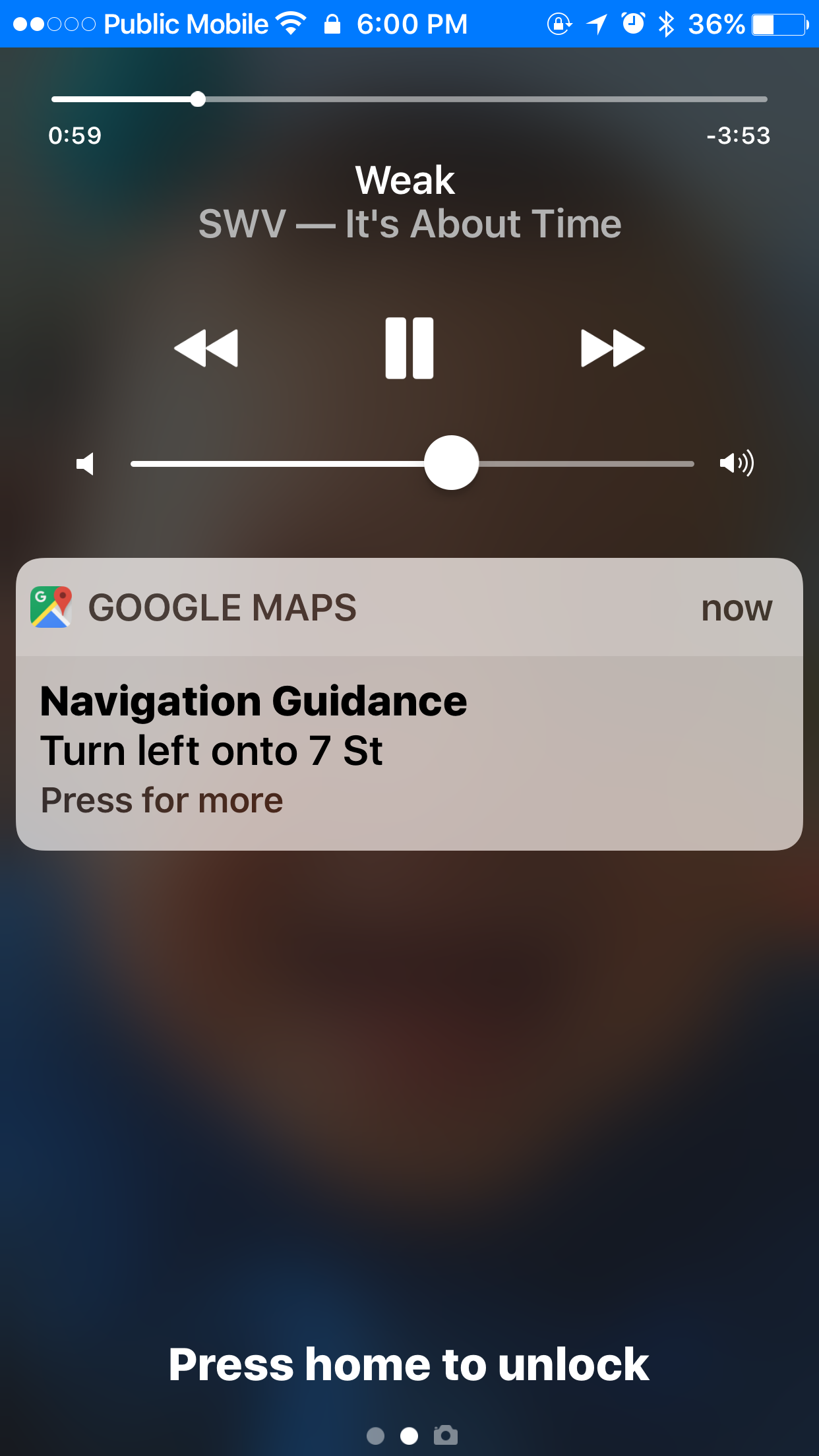 Google Maps for iOS Updated with Lock Screen Directions Widget ... on