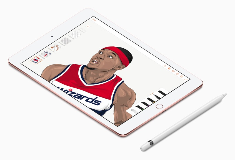 Ipad pro nba rob zilla wizards