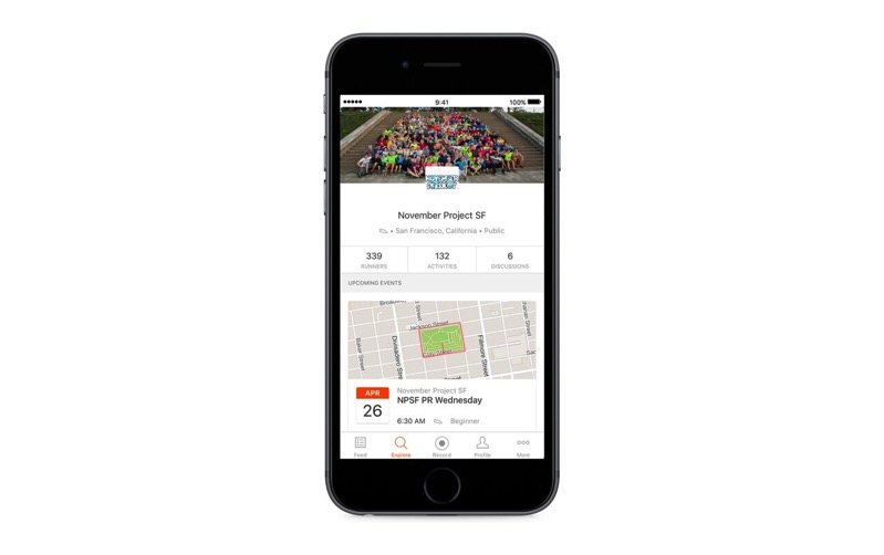 Strava club events 2