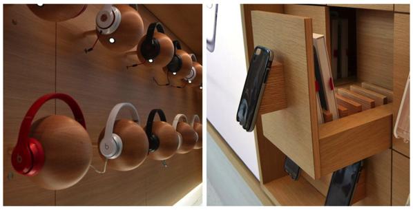Apple store wood