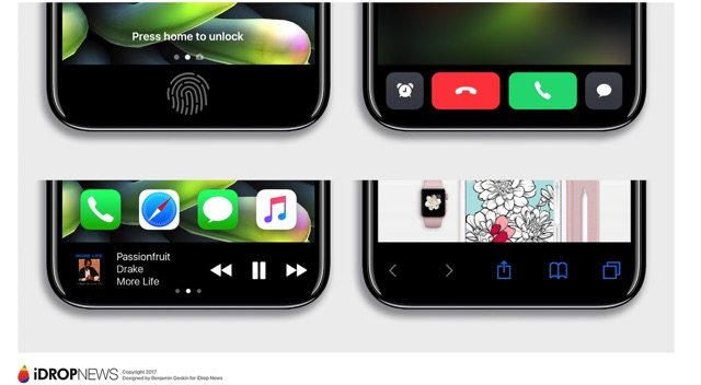 IPhone 8 Function Area iDrop News Exclusive 7