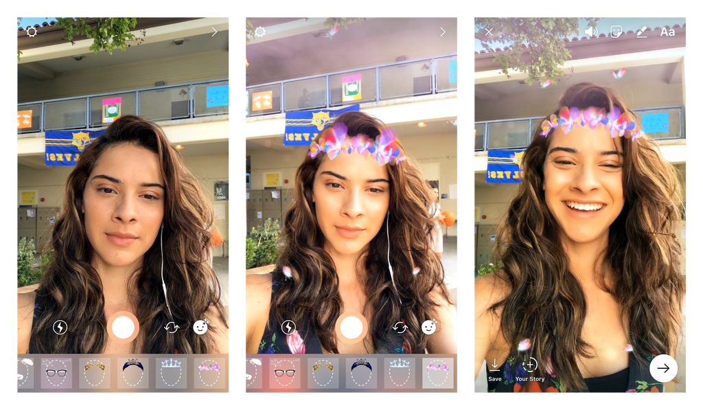 Instagram Introduces Snapchat-Like AR 'Face Filters' Feature