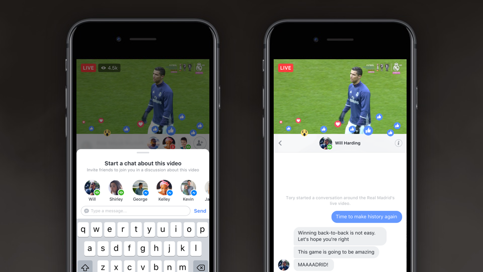 Facebook Rolls Out More Ways to Connect With Friends Live   iPhone