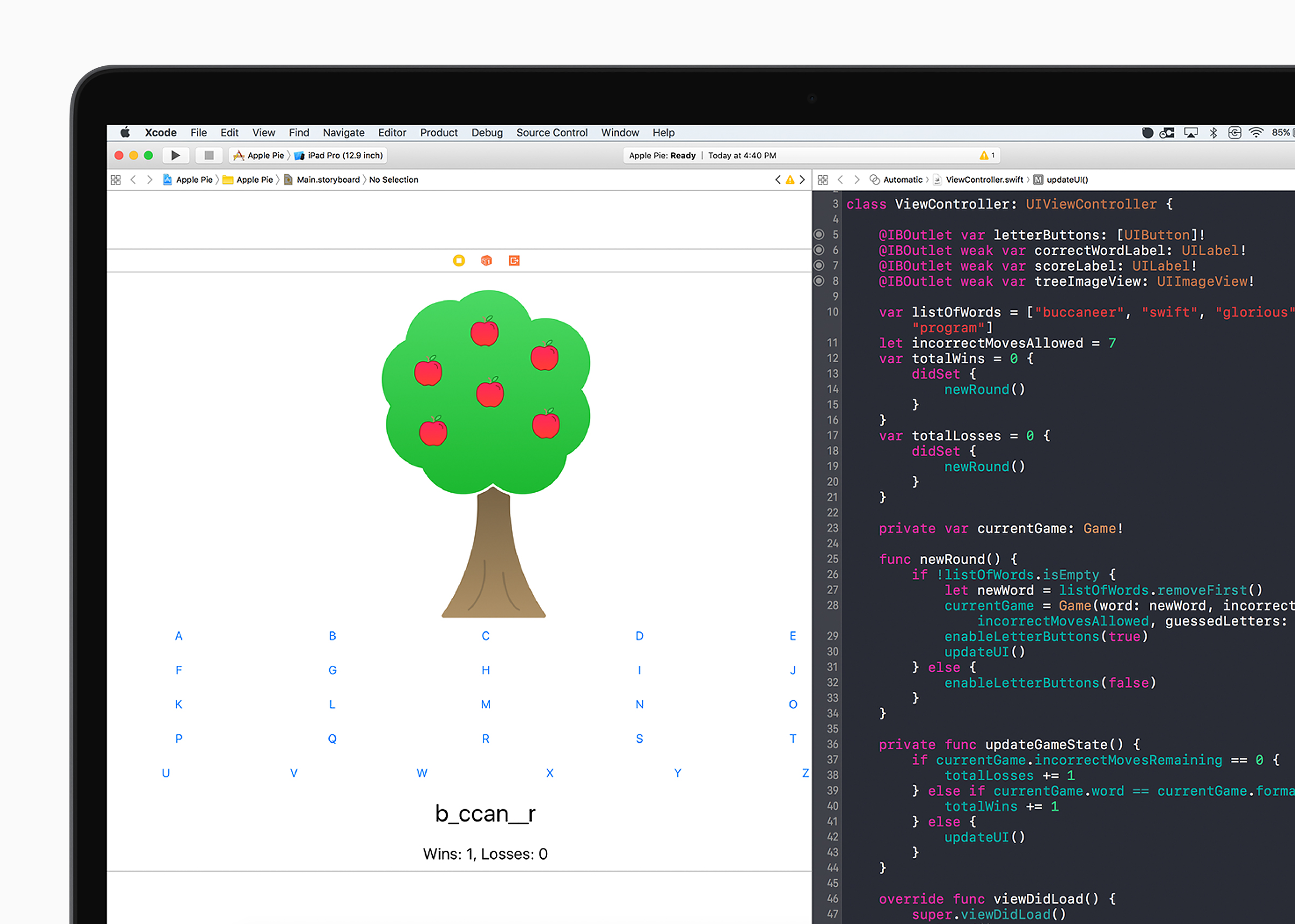 4e82abd63 The programming language used for Apple apps and devices is Swift. Apple is  offering the curriculum free on its App Store, ...