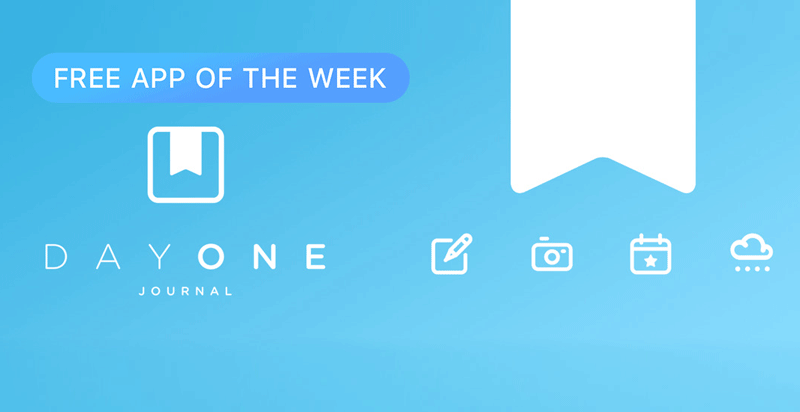 Apple's Free iOS App of the Week: Day One Journal | iPhone in Canada