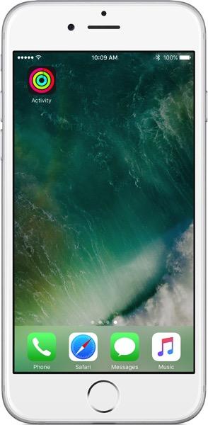 Ios10 iphone6 home screen activity app