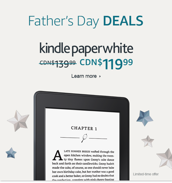 Kindle fathers day