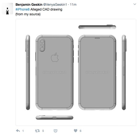 Geskin iphone 8 stolen CAD