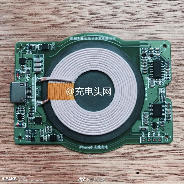 Iphone 8 wireless charging module leak