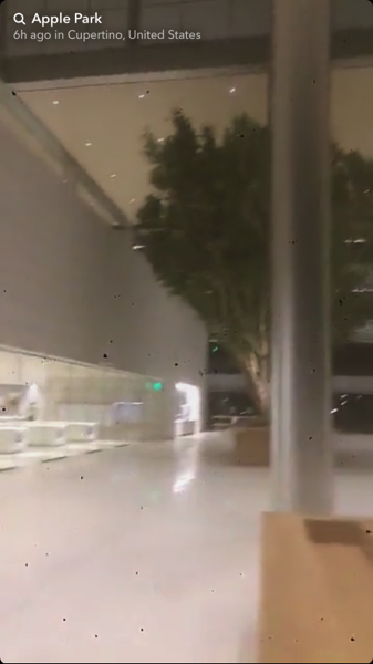 Construction Workers at 'Apple Park' Leak Interior Photos