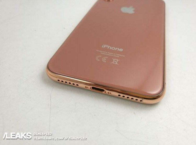 Iphone 9 copper gold