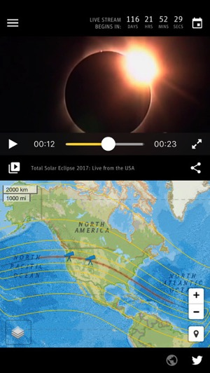 Iphone solar eclipse
