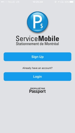 Montreal passport