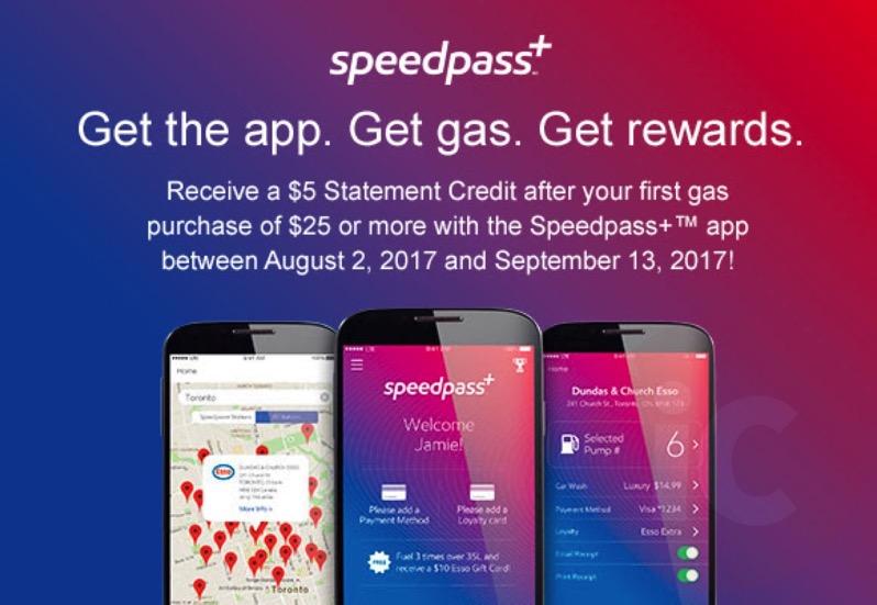 Speedpass amex promo