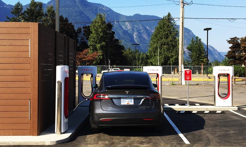 Tesla hope supercharger